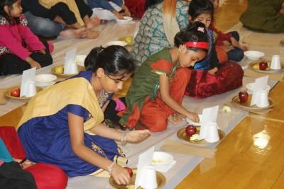 Deepavalli Children Samashti Puja