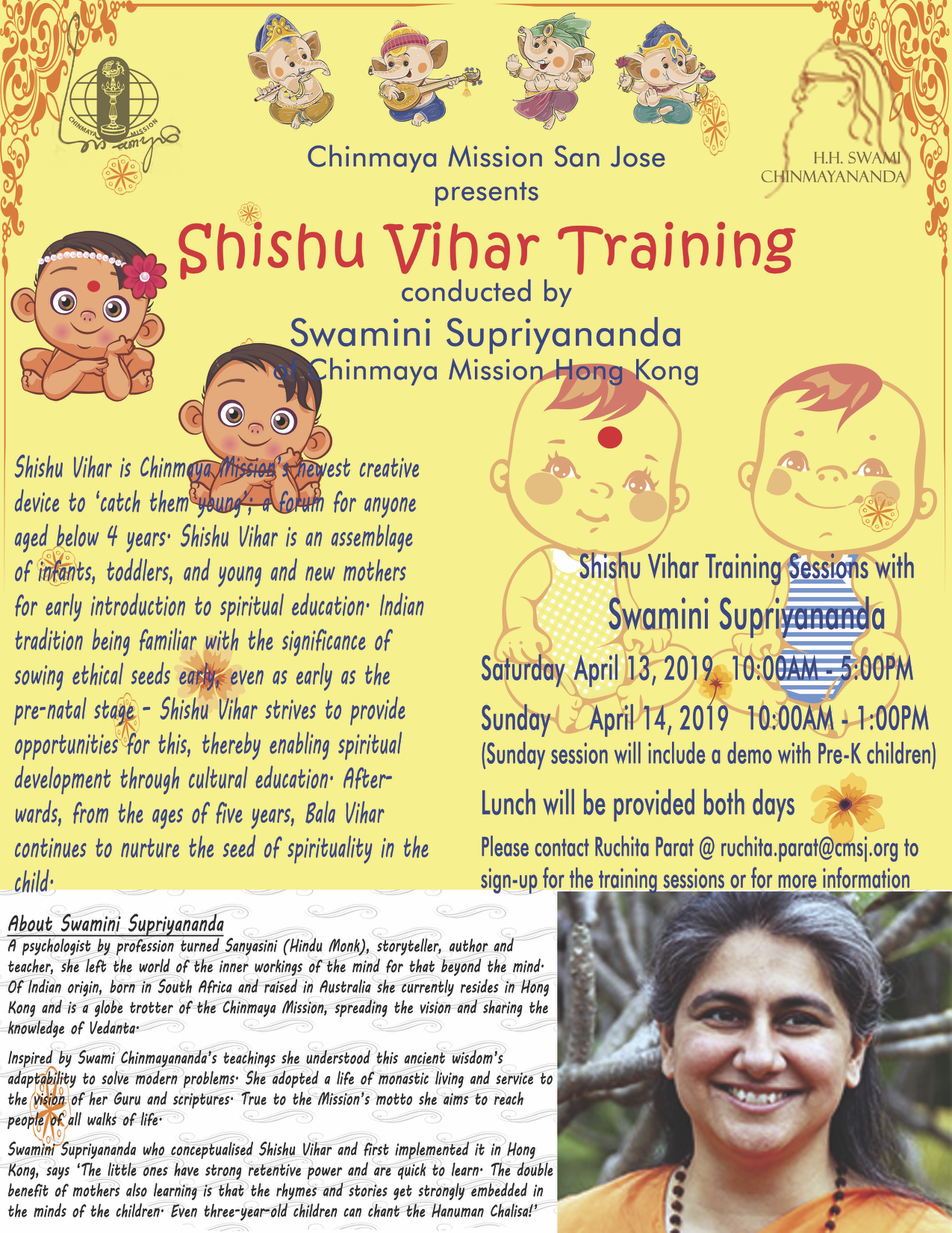 shishu_vihar_training_flyer