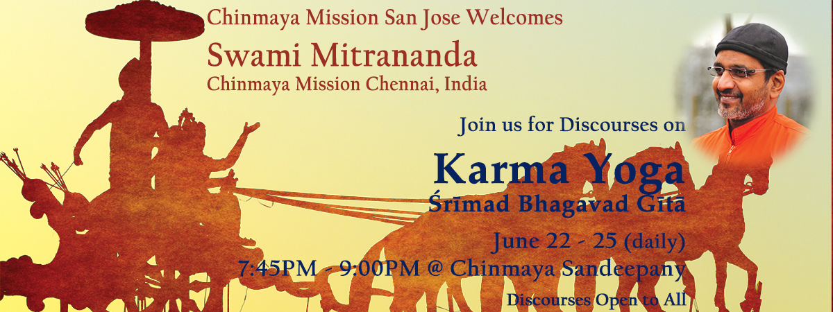 Discourses by Swami Mitrananda on Karma Yoga