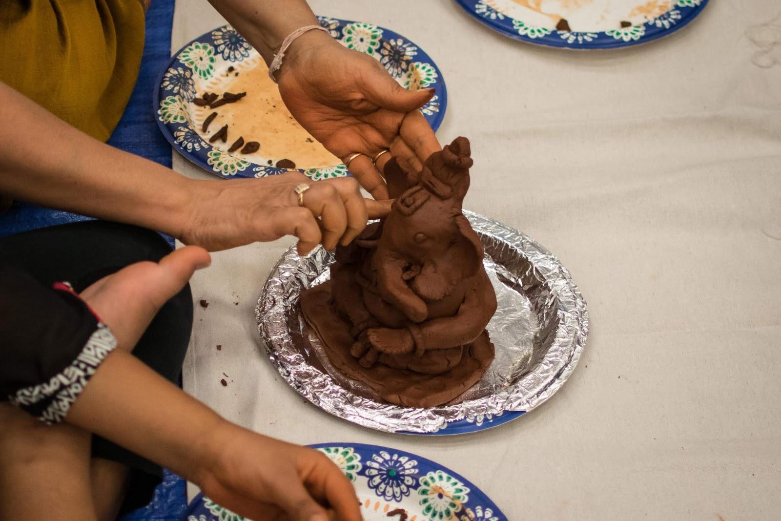 Ganesha Moorthi Making Workshop