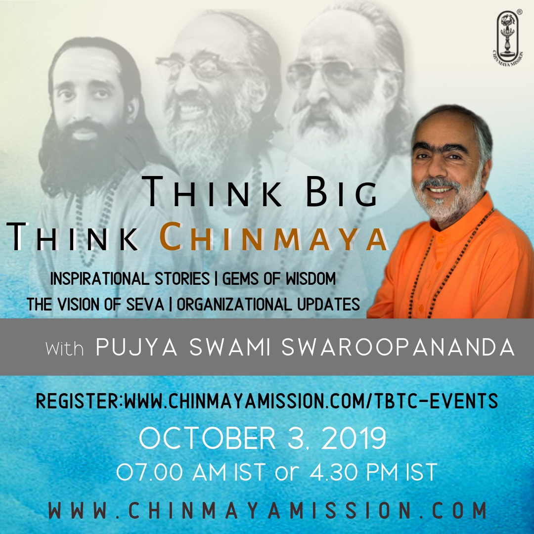 Think Big, Think Chinmaya - Global Online Satsang (Alternative session)