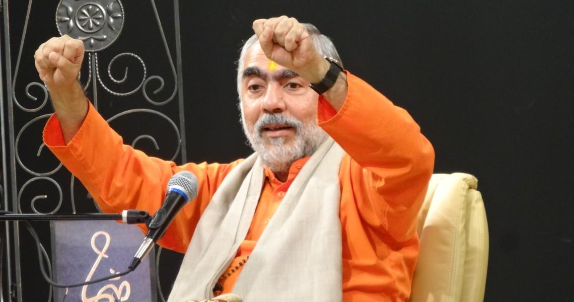 Swami Swaroopananda at Chinmaya Sandeepany