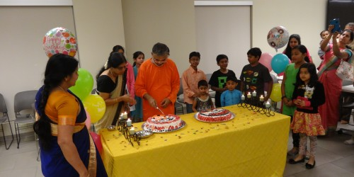 Swami Advaitananda-ji's Birthday Celebrations
