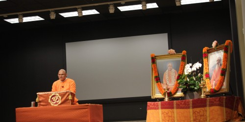 Swami Sharanananda 'Meditation is the best Medication'