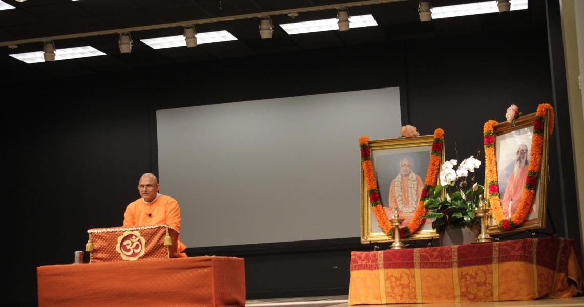 Swami Sharanananda 'Meditation is the best Medication'