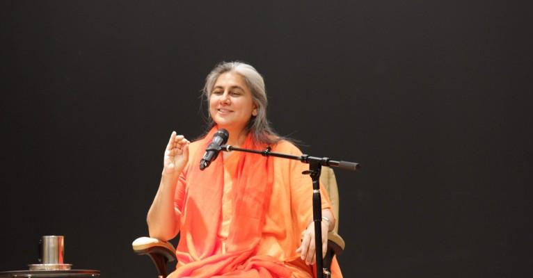 Swamini Supriyananda-ji's visit
