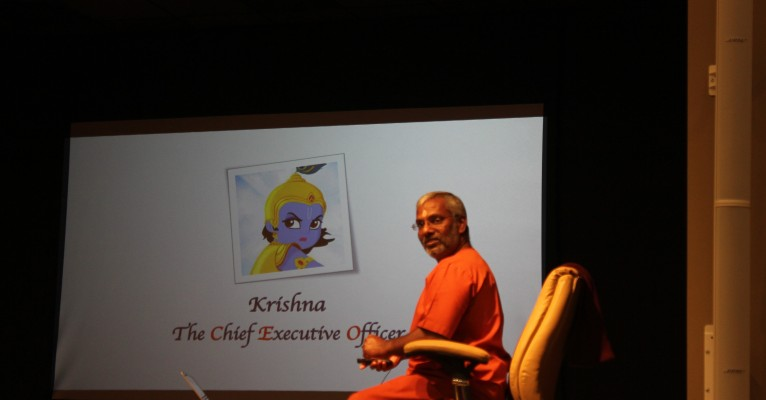 Krishna the CEO – Swami Ramakrishnananda