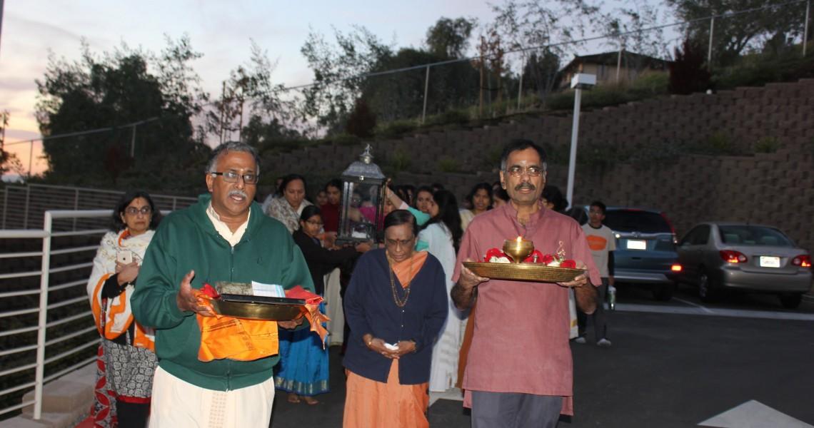 Chinmaya Jyothi Yatra Arrival